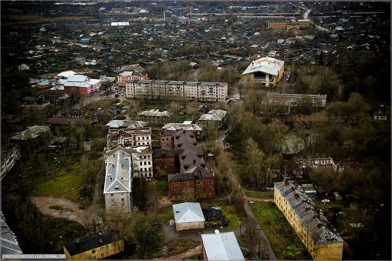 Russian city Tver, air shots 7