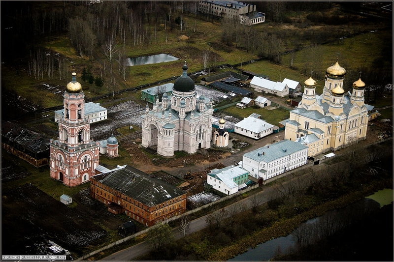 Russian city Tver, air shots 21