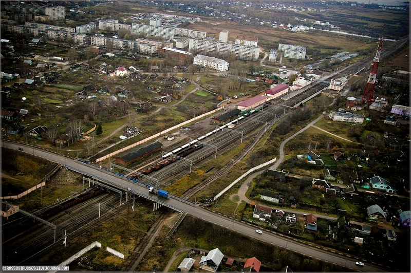 Russian city Tver, air shots 22