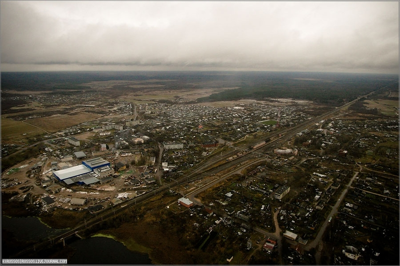 Russian city Tver, air shots 33