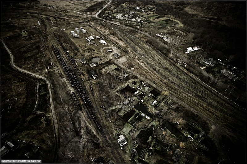 Russian city Tver, air shots 37