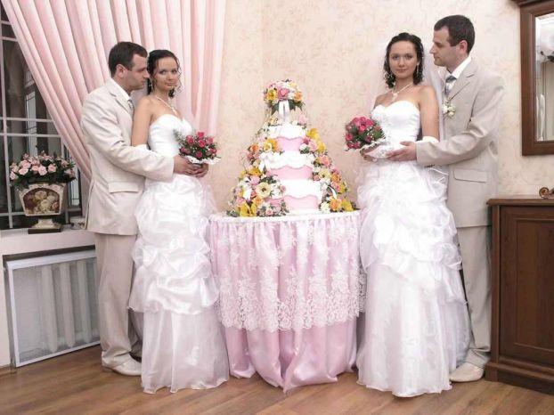 twins wedding ceremony in the Ukraine 3