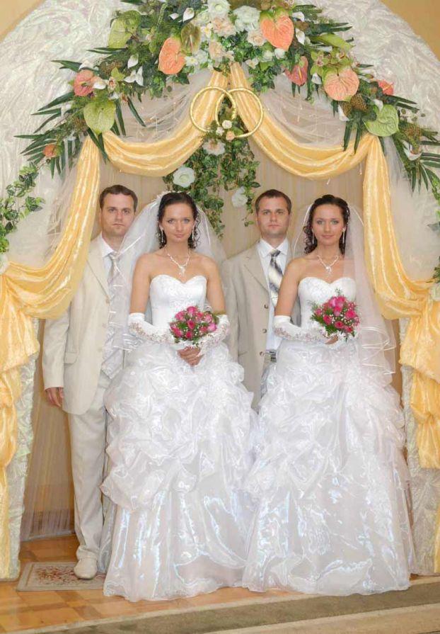 twins wedding ceremony in the Ukraine 4