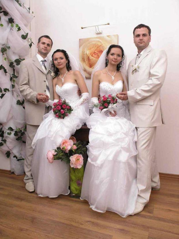 twins wedding ceremony in the Ukraine 6