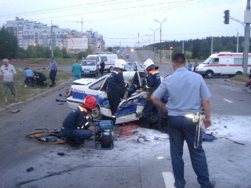 Two Traffic Policemen Killed by a Drunk Driver in Izhevsk