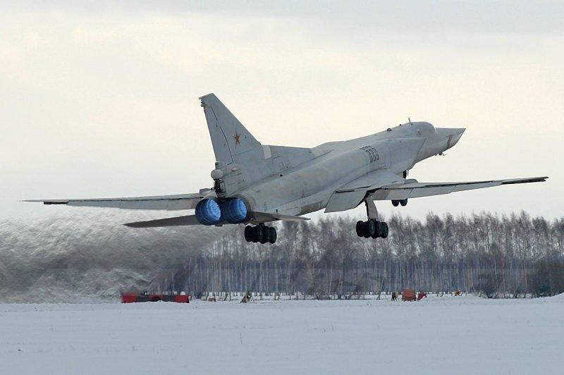 Russian bomber TU-22M 2