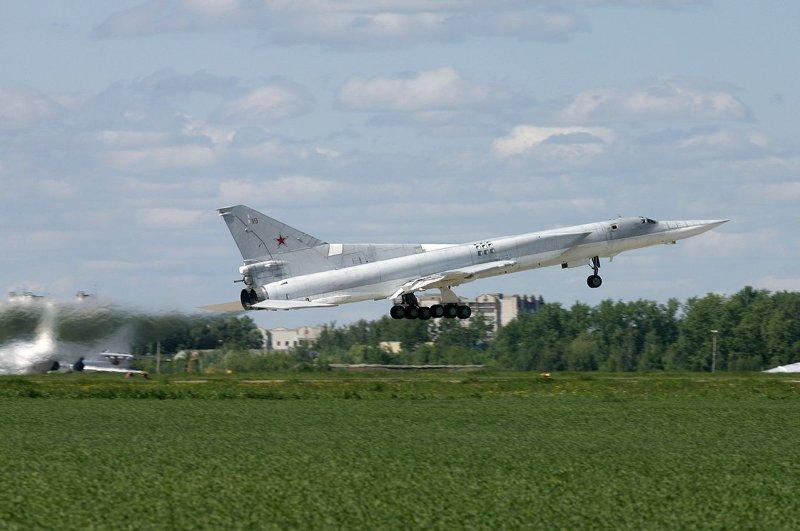Russian bomber TU-22M 3