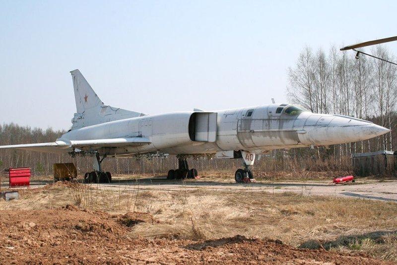 Russian bomber TU-22M 5