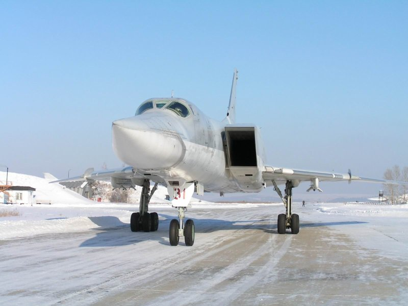Russian bomber TU-22M 8