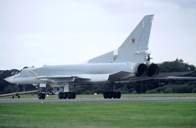 Russian bomber TU-22M 9