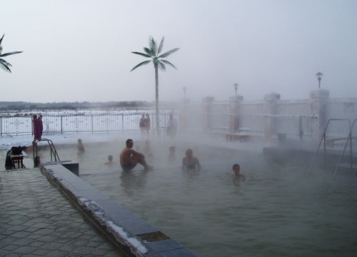 Tyumen, Russia, hot springs 6