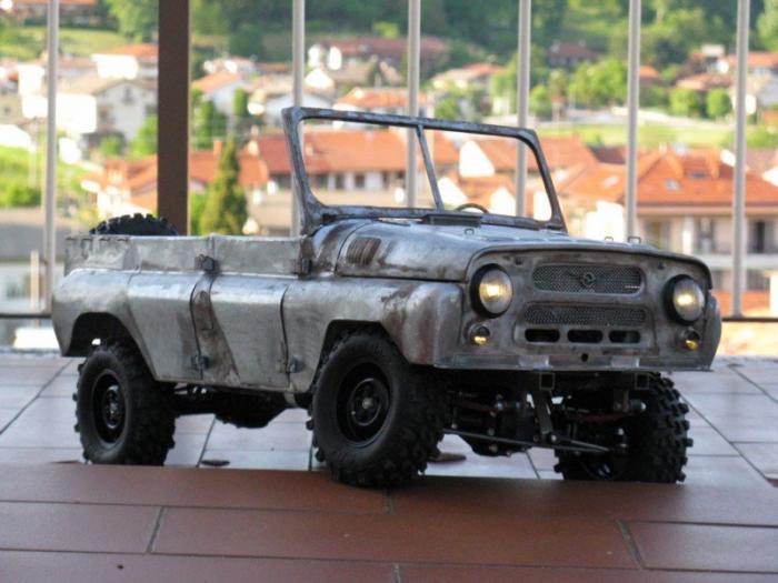 Russian car UAZ model 1