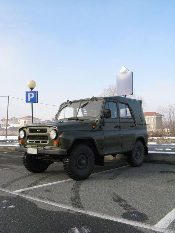 Russian car UAZ model 2