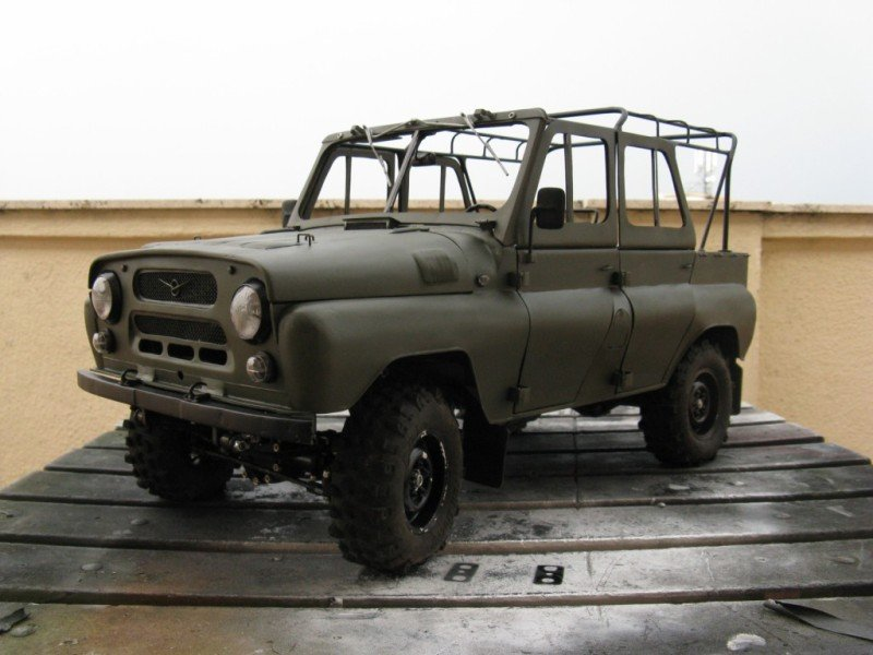 Russian car UAZ model 47