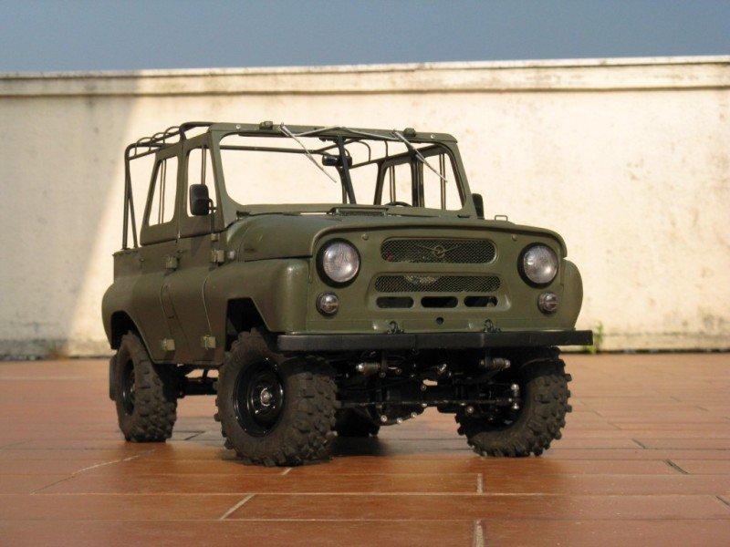 Russian car UAZ model 48