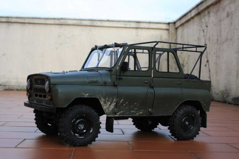 Russian car UAZ model 52