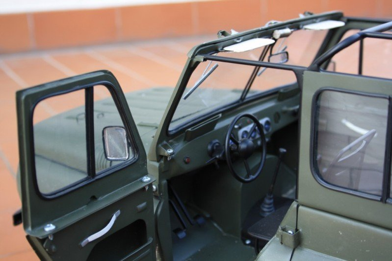 Russian car UAZ model 53