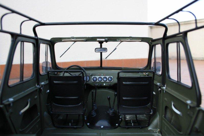 Russian car UAZ model 54