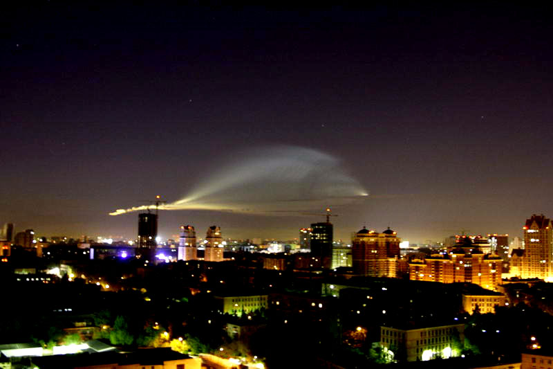 Russian UFO in Moscow 4
