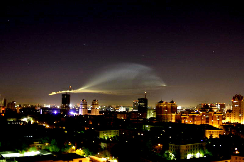 Russian UFO in Moscow 5