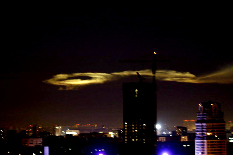 Russian UFO in Moscow 13