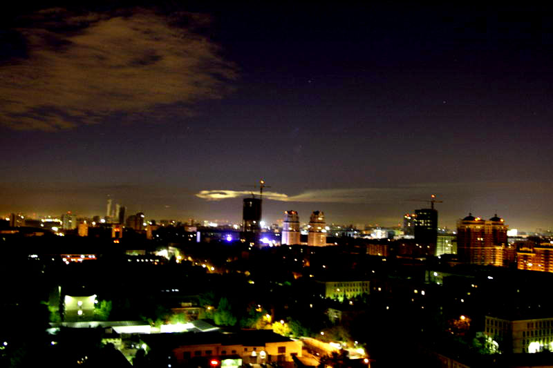 Russian UFO in Moscow 14