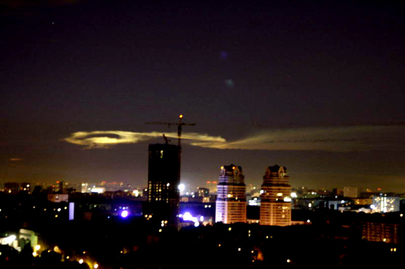 Russian UFO in Moscow 15
