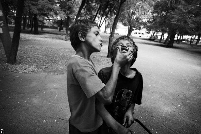 Homeless kids in Ukraine 10