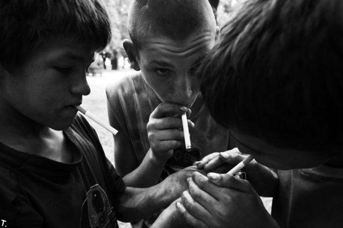 Homeless kids in Ukraine 11