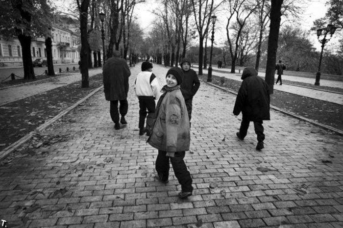 Homeless kids in Ukraine 12