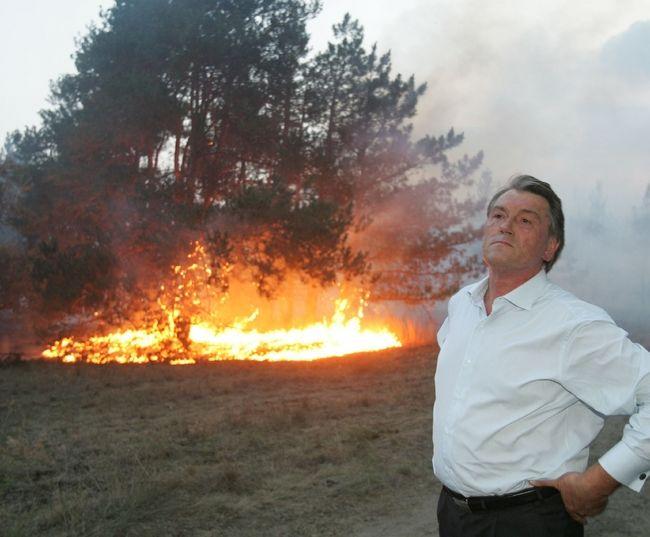 ukrainian president fights fire 10