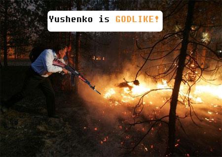 ukrainian president fights fire 16