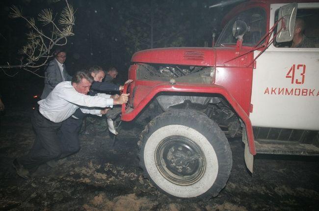 ukrainian president fights fire 5