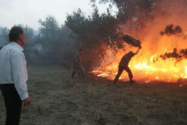 ukrainian president fights fire 9