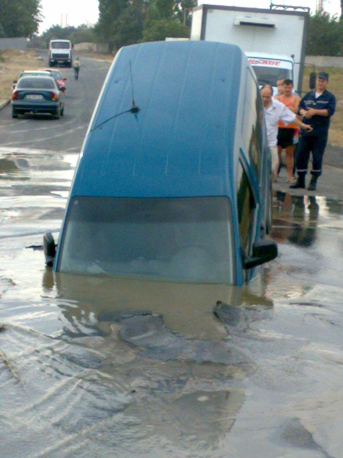 Roads in Ukraine, Russia 3