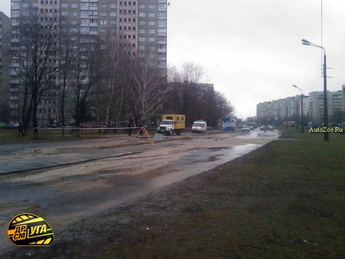 Golf got under road in Russia 7