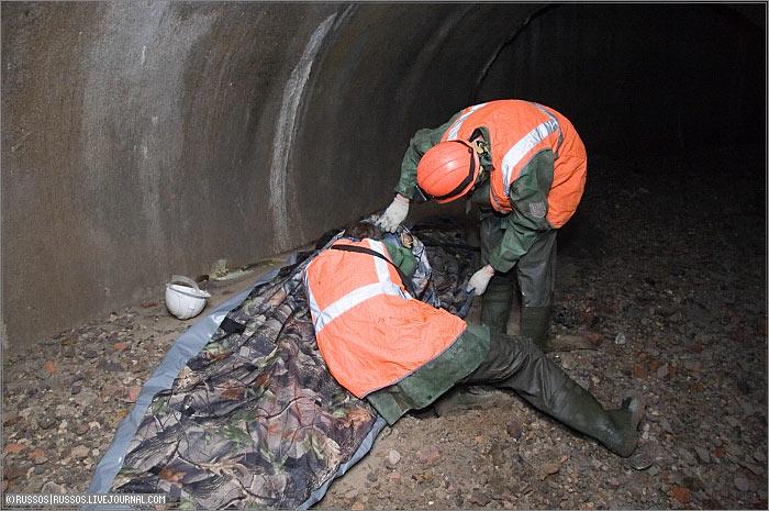 underground rafting in Russia 2