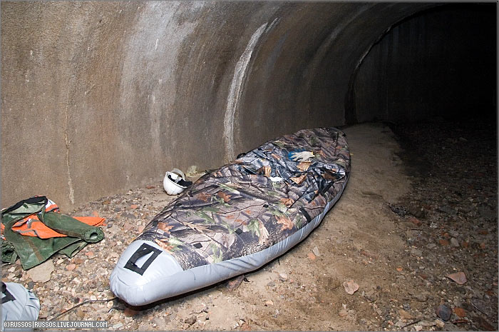 underground rafting in Russia 3