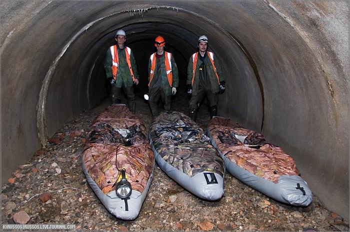 underground rafting in Russia 5