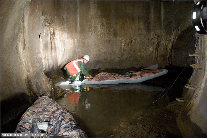 underground rafting in Russia 7