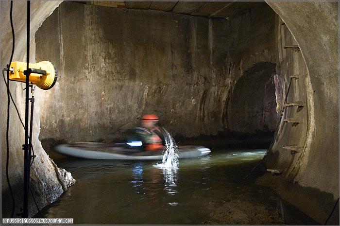 underground rafting in Russia 9