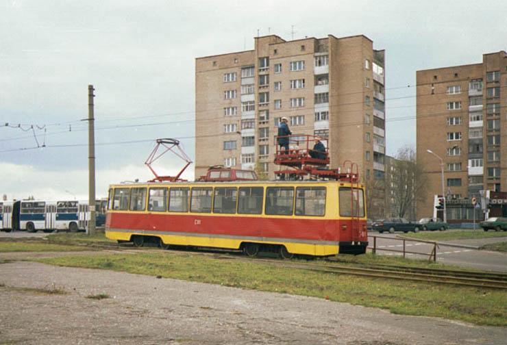 underground tram in Volgograd 1