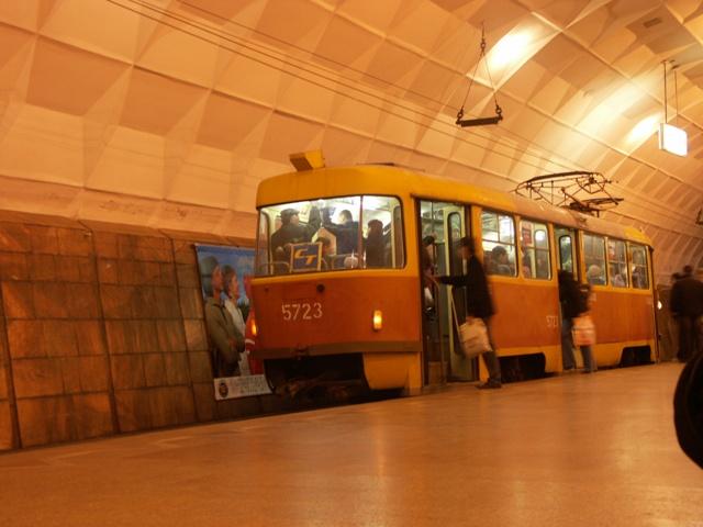 underground tram in Volgograd 2