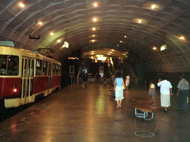 underground tram in Volgograd 3