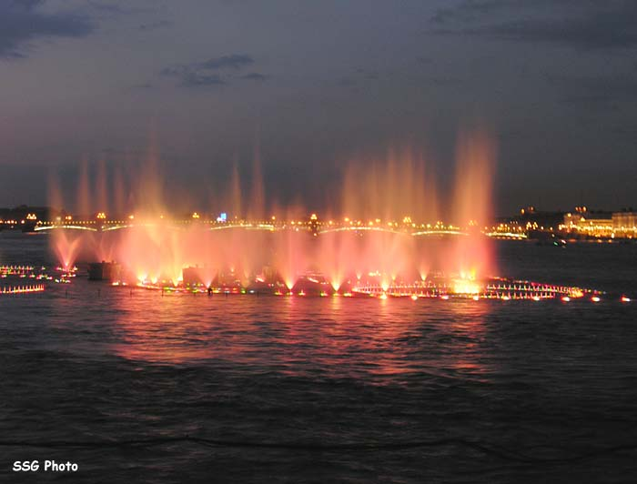 Underwater fountain in St. Petersburg, Russia 10