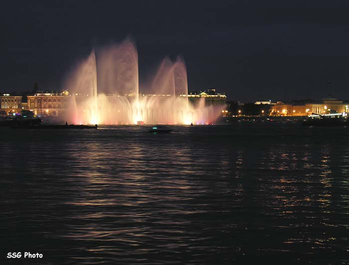 Underwater fountain in St. Petersburg, Russia 11
