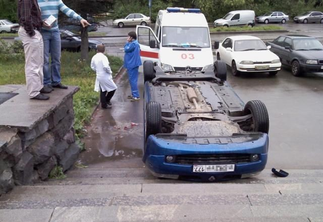 car parked in Russia 2