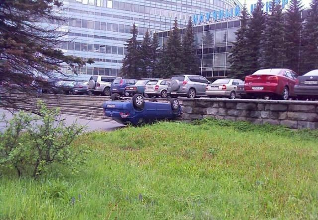 car parked in Russia 3