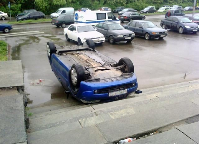 car parked in Russia 4