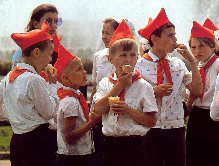 Russian past: Russia at seventies-eighties of the last century 22
